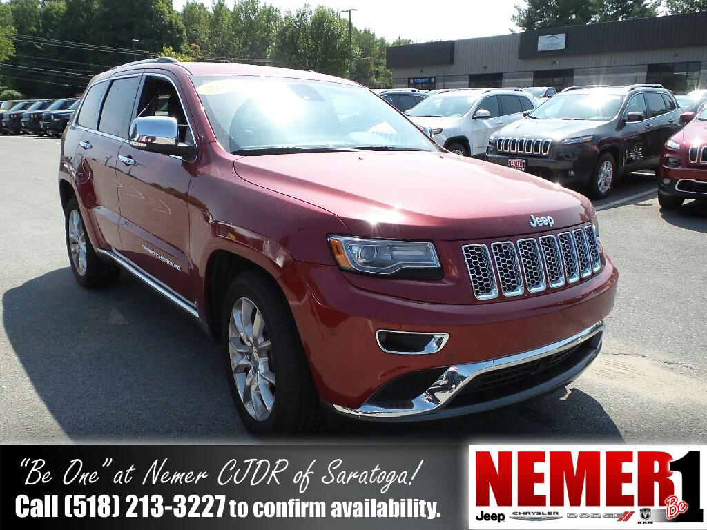 Pre-Owned 2014 Jeep Grand Cherokee Summit 4WD 4 Door Wagon